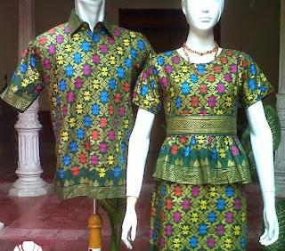 Foto Contoh Baju Batik Bali