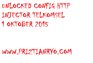 (UPDATE) UNLOCKED Config Http Injector Telkomsel 1 Oktober 2015
