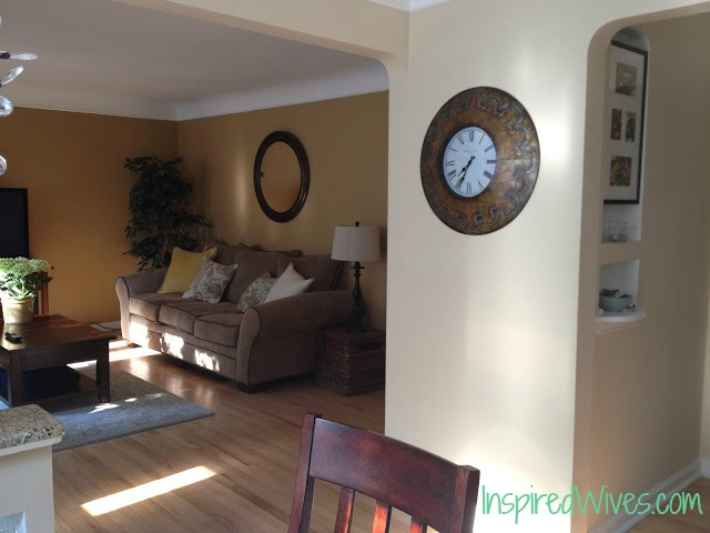 Inspired Wives: Living Room Makeover