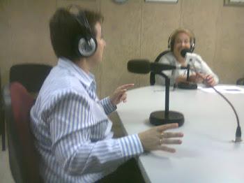 """Entrevista en el Programa de Radio """"Rubí al Día"""""""