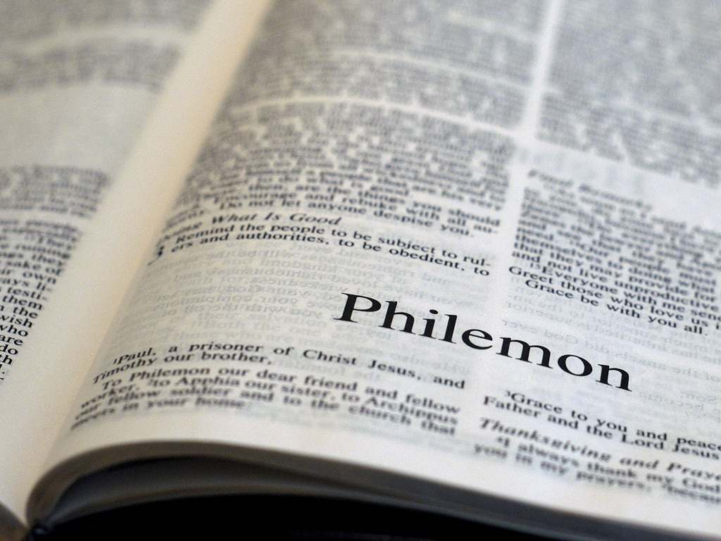 Philemon 1 - NIV Bible - Bible Study Tools
