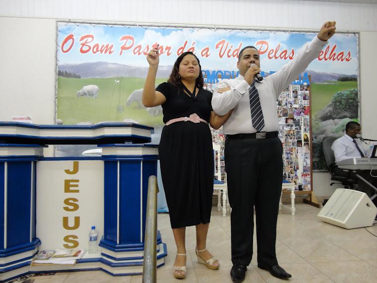 IMPD MÇU - Pastor Fábio Fernando Almeida //Miss. Raphaela Silva - 2012