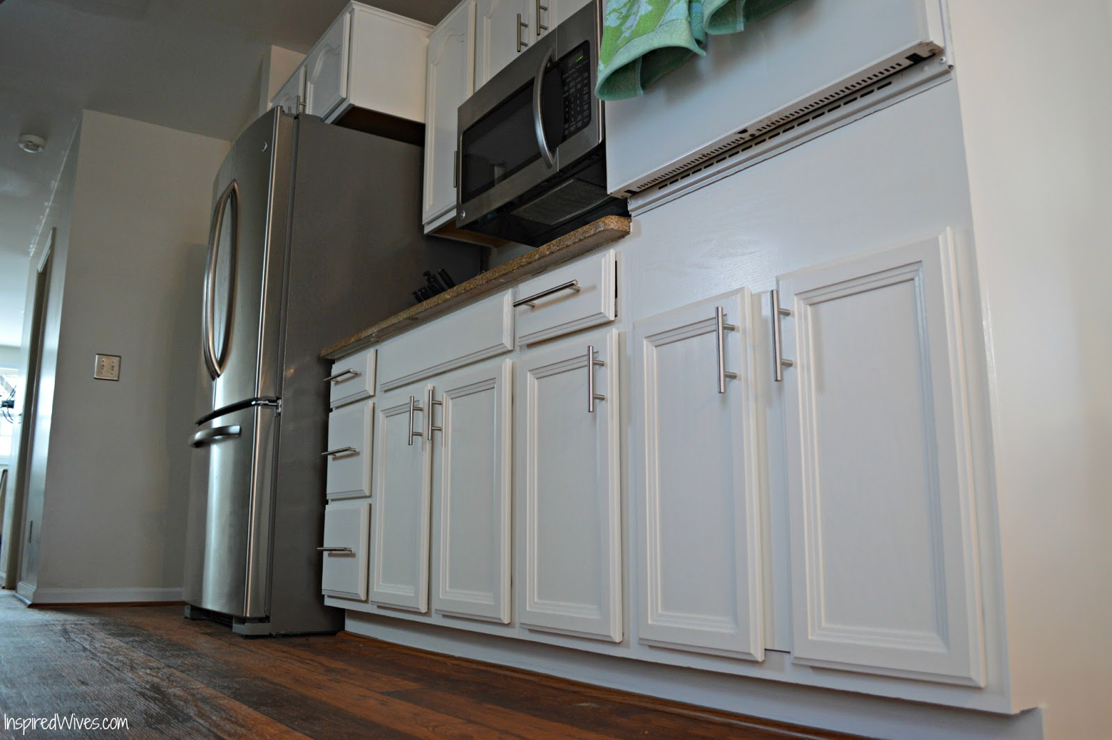 How To Paint Kitchen Cabinet Frames