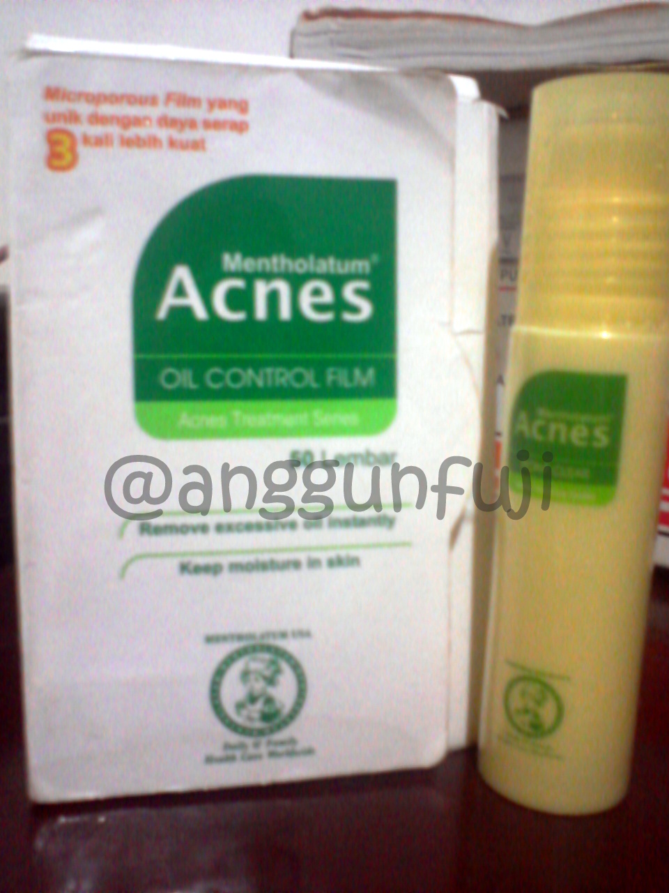 Review Acnes Treatment Series Cerita Anggun Sealing Gel Oil Control Film Point Clear