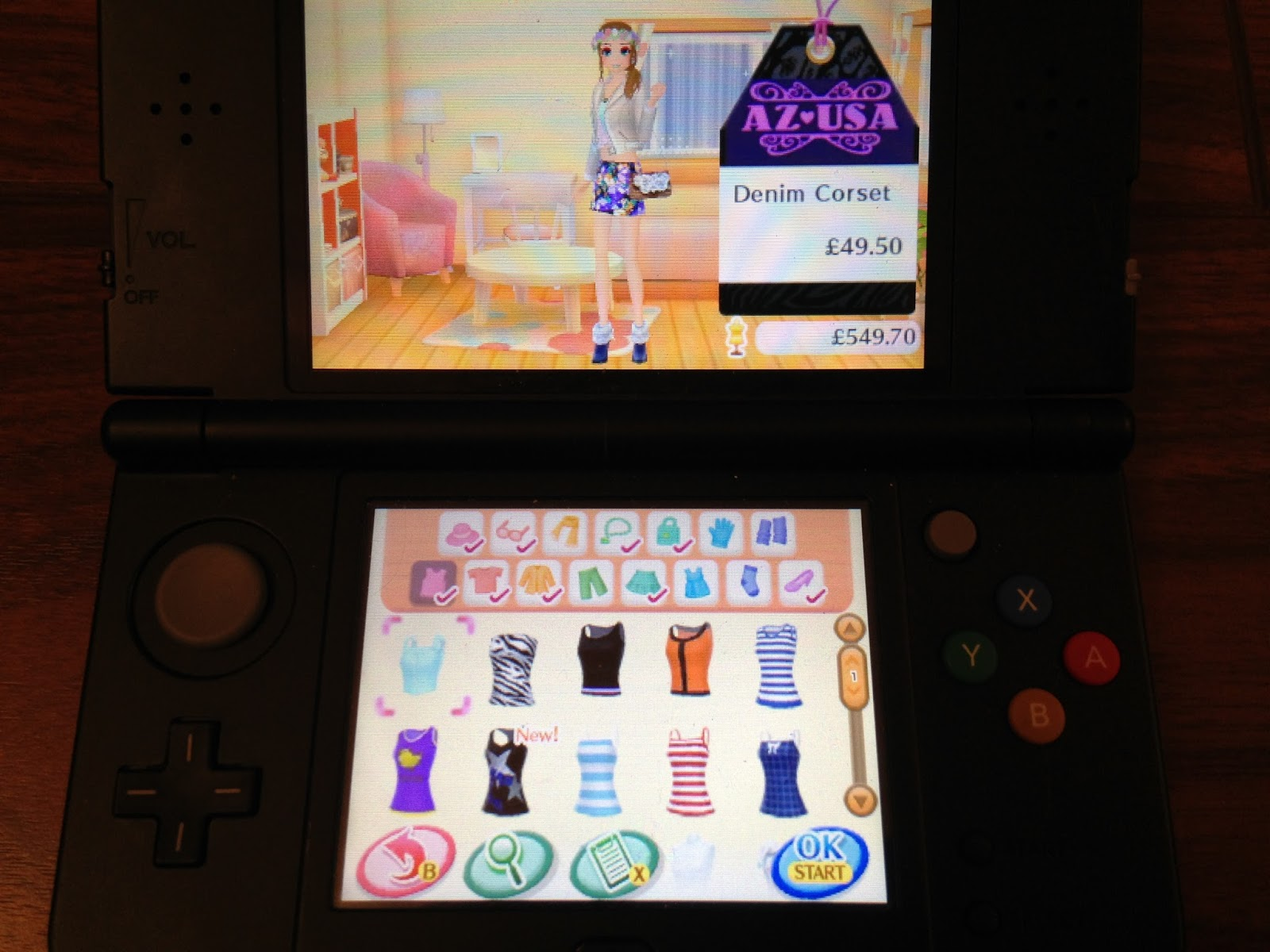 Steph's Two Girls: Nintendo New Style Boutique 2: Fashion Forward ...