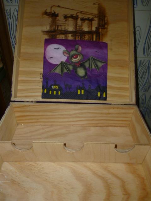 Giulialaborsadimarypoppins scatola di vini o scatola - Porta dischetti struccanti ...
