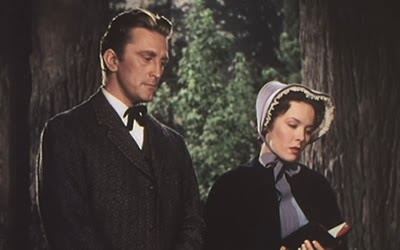 The Big Trees Starring Kirk Douglas and Eve Miller