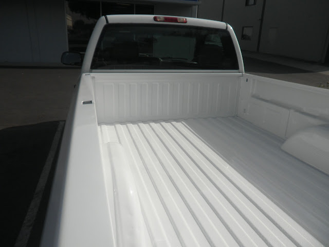 Salvaged bed on Chevy Silverado Pickup at Almost Everything Auto Body