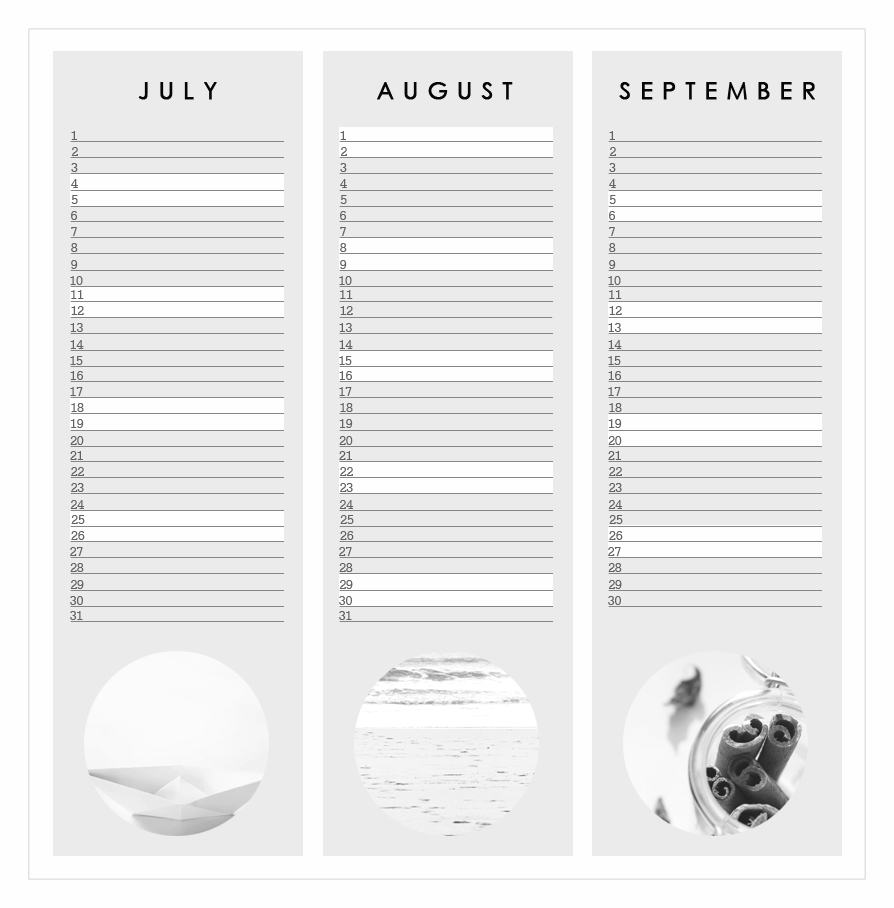 free home printable calendar 2015 graphic design grey july august septmeber