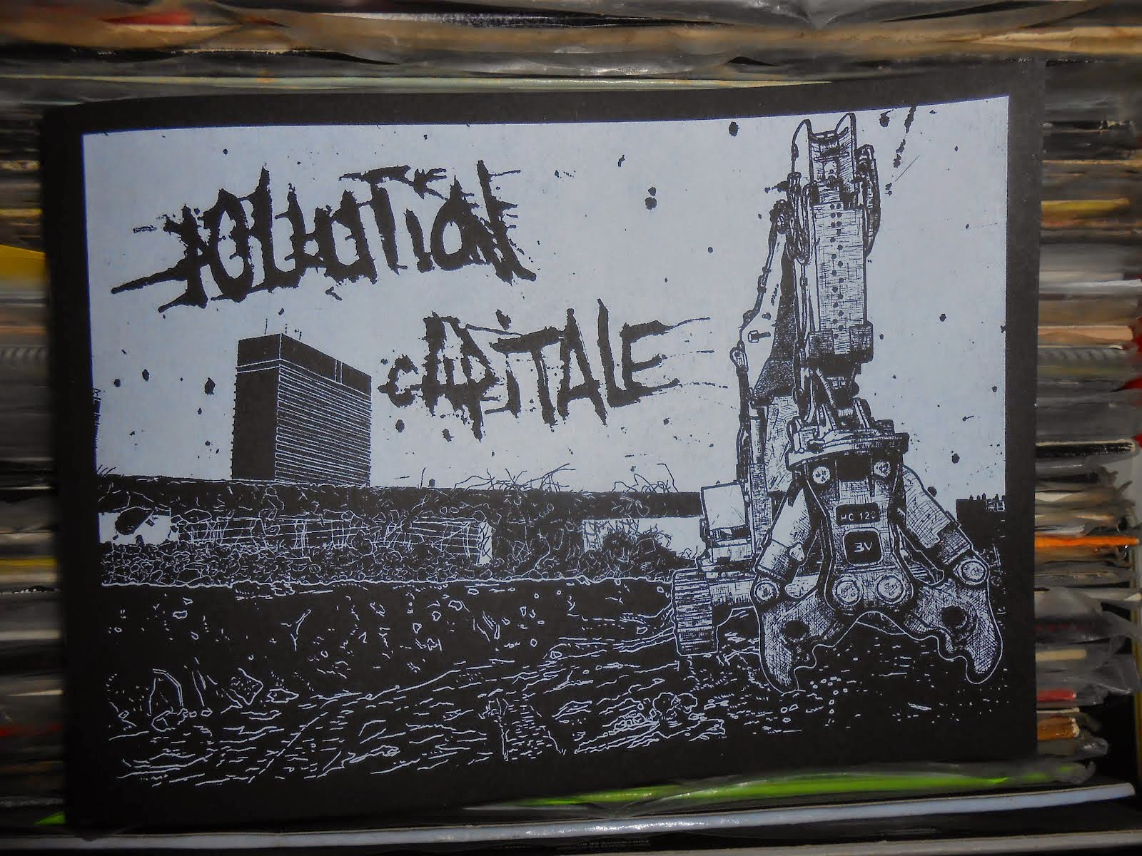 pollution capitale (dvd zine)