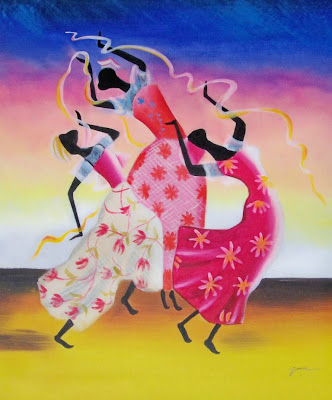 cuadro-decorativo-africana