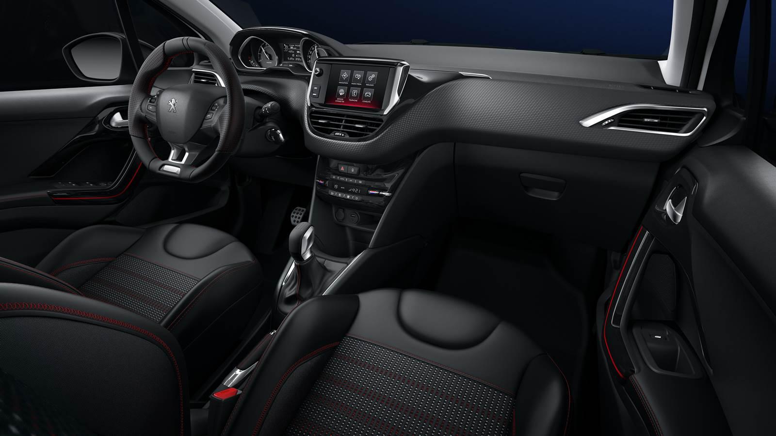 Novo Peugeot 208 2016 GT Line - interior