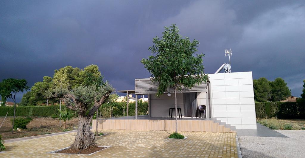 Yecla, tormenta