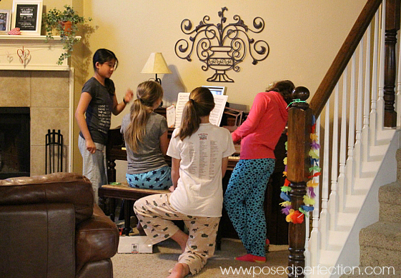 Allowing time for spontaneous concerts and Minute-to-Win-It games are always a good idea when planning birthday parties for tweens.
