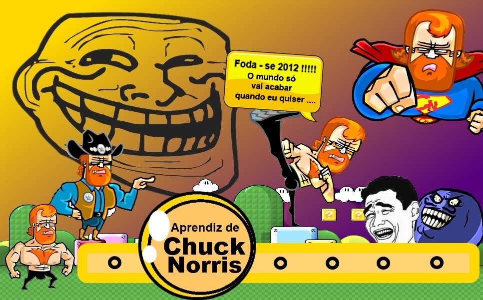 ANTIGO Aprendiz de Chuck Norris