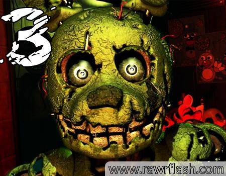 Jogos de terror online:Five Nights at Freddy's 3