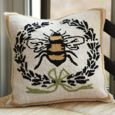 the cat and the bee napoleonic bee pillow by ballard designs suzanne kasler embroidered pillow ballard designs