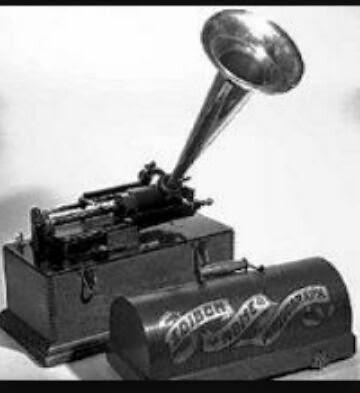 El Fonógrafo Inventos Siglo Xix