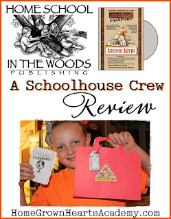 Home School in the Woods ~ Project Passport World History Study: Ancient Egypt ~ Review