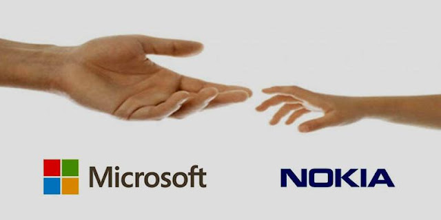 Microsoft Resmi Beli Saham Nokia