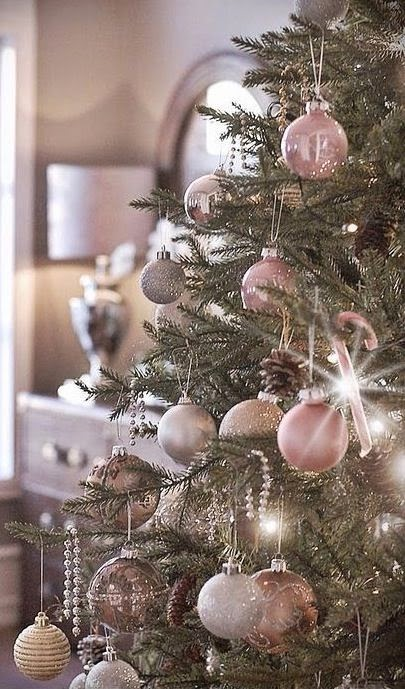 If Pink Christmas Trees Are You Thing, Remember:   You Can Go For Any Shade  Of Pink You Want. If You Are A Pastel Pink Person, Go For Pale Shades, ...