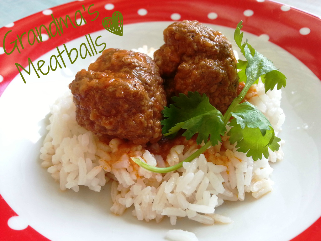 Grandma's Meatballs recipe