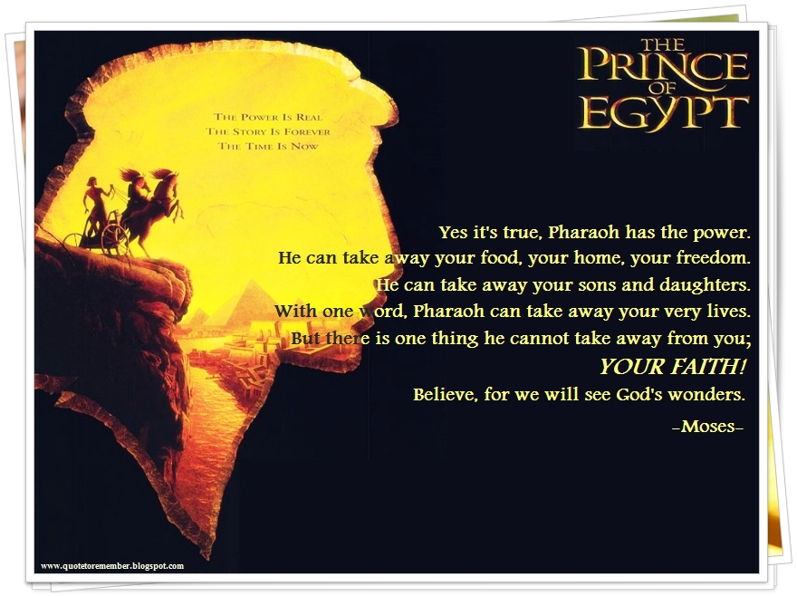 The Prince Of Egypt 1998 on Vimeo