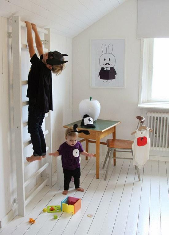 Mommo design indoor play ideas - Habitaciones nordicas ...