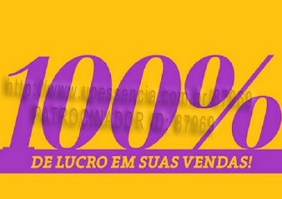 100% de lucro direto - up essências