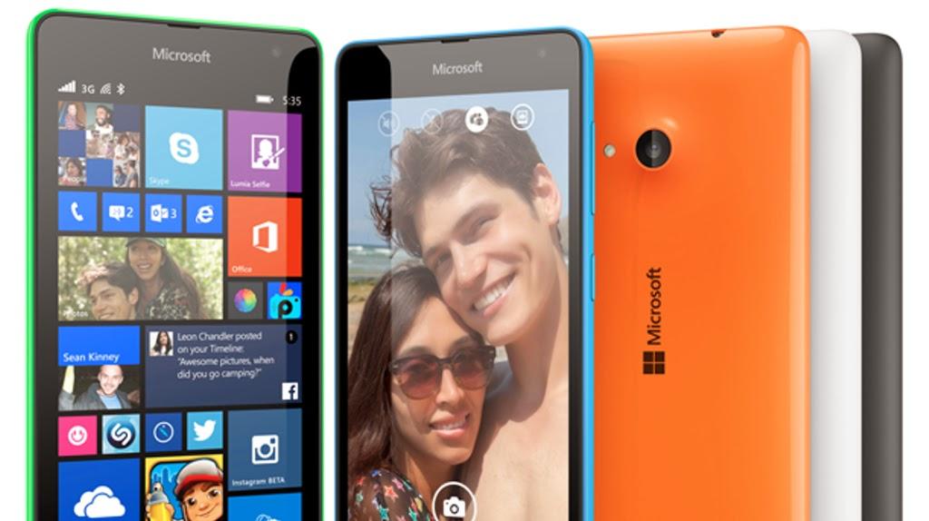 Significato icone barra in alto su schermo Lumia 535