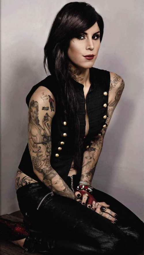 Beauty of kat von d tattoo design trend hairstyle 2014 for How to get tattooed by kat von d