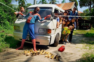 SPIDERMAN SUPERHERO PAPUA