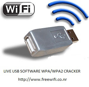Live USB Software Bootable WPA/WPA2 Crack er