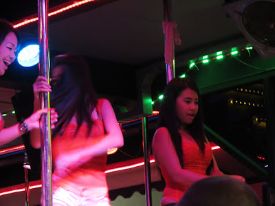 a go-go dancing in a south Thailand night