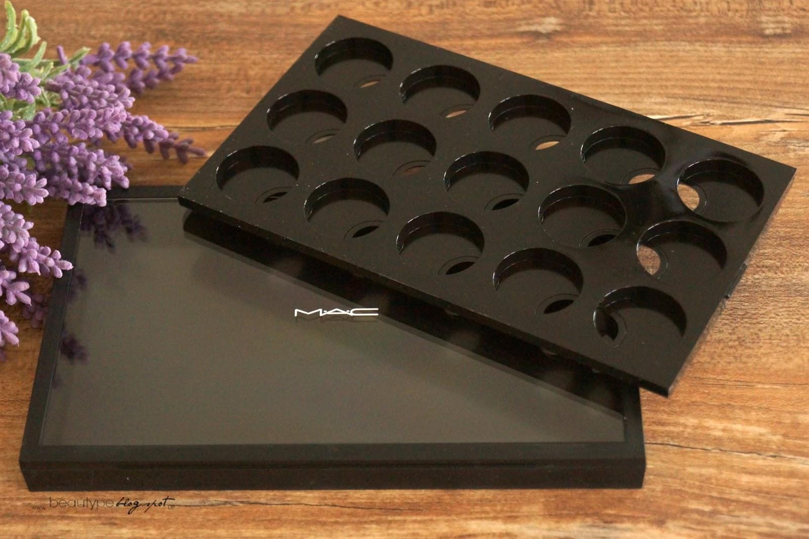 beau ty pe review mac pro palette large mac. Black Bedroom Furniture Sets. Home Design Ideas