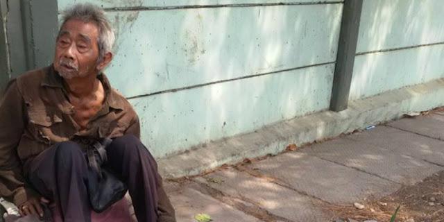 Sebarkanlah! Kisah Kakek Penjual Air Mineral di Kalideres Getarkan Hati Netizen