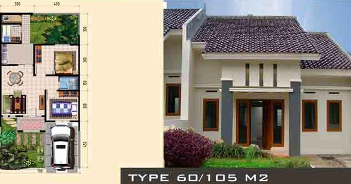 Gambar Rumah Minimalis Type 60 105 Design Rumah Minimalis