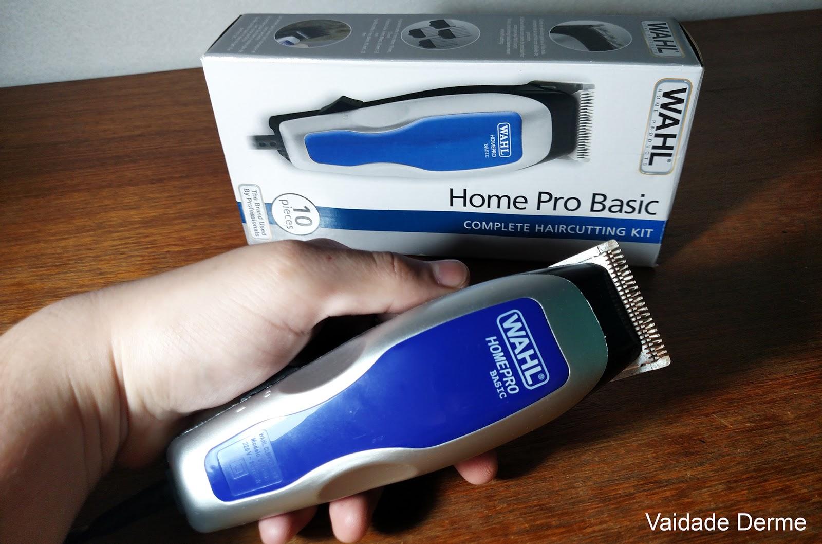 Máquina de Cortar Cabelo Home Pro Basic Wahl Clipper