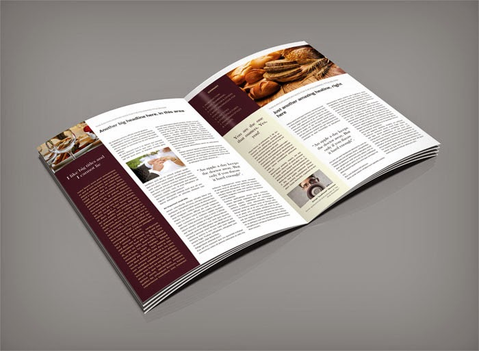 Free InDesign Newsletter Template #1 | Free InDesign Templates ...