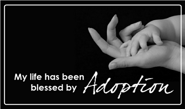 blessed by adoption