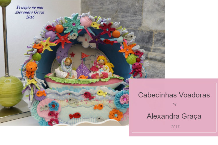 Cabecinhas voadoras - Arts and Crafts