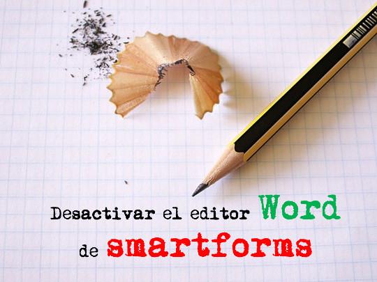 word smartforms