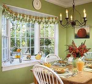 Bay Window Dressing Ideas