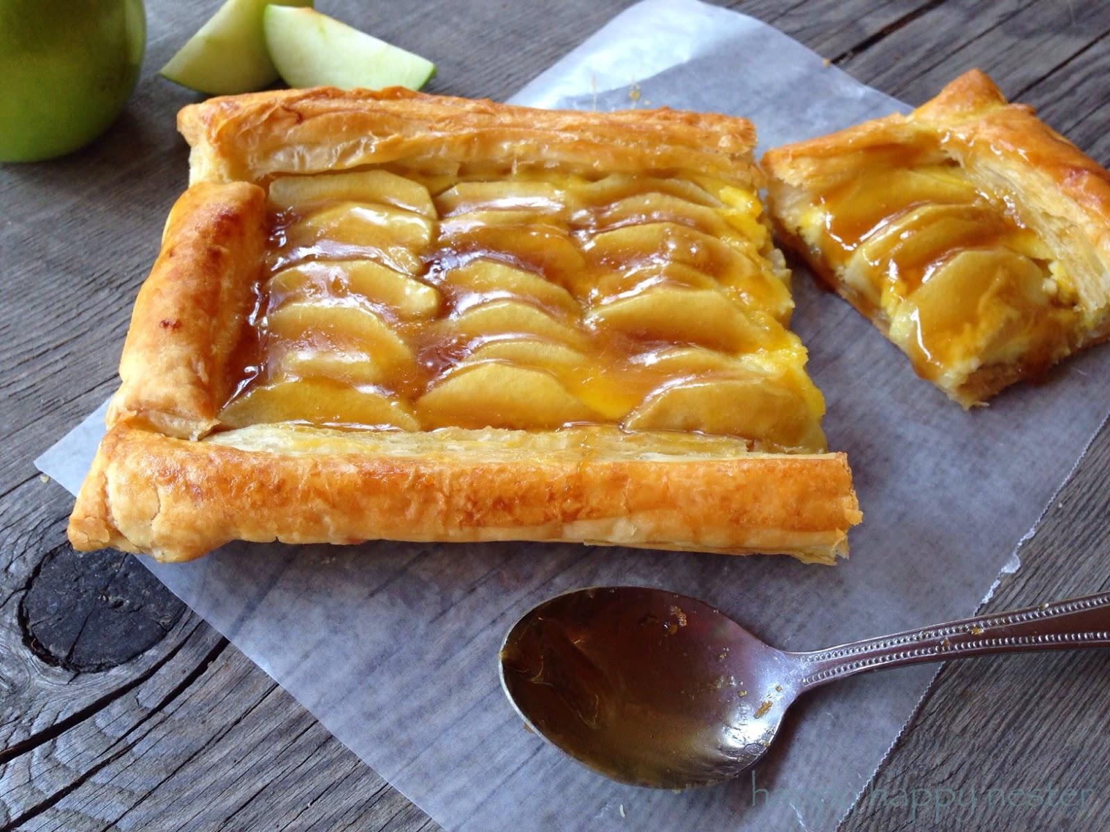 Happy Happy Nester: French Apple Custard Tart