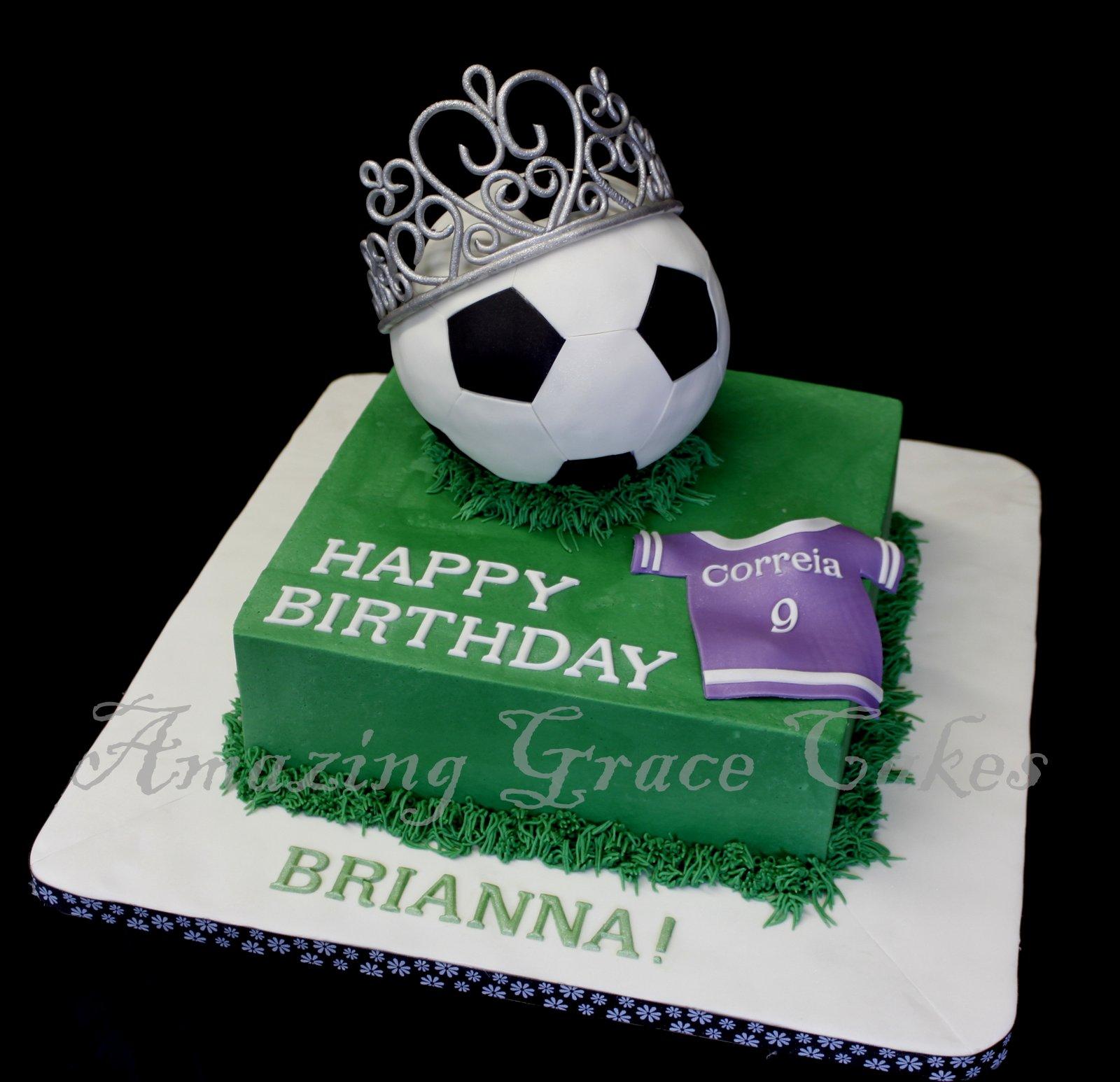 Soccer Cake: Amazing Grace Cakes