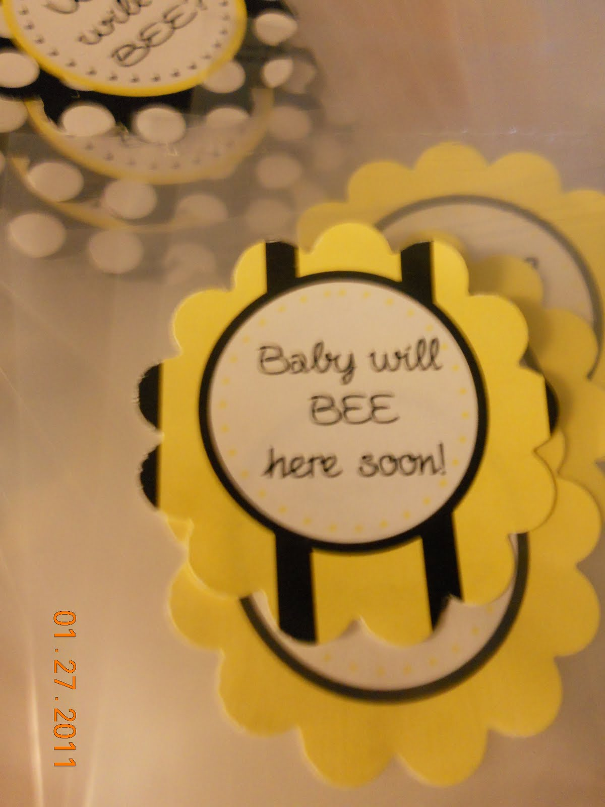 Bee Themed Baby Shower FREE PRINTABLES