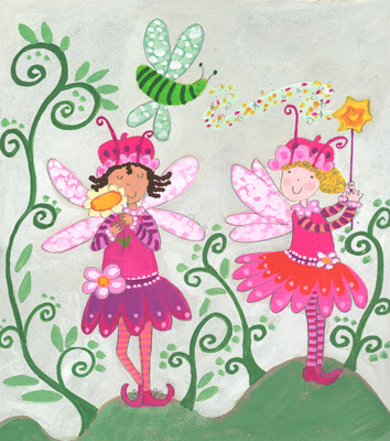 las hadas es el mundo imaginario de las niñas Mundo de niños para imprimir