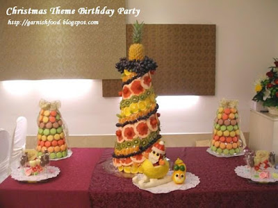 macarons christmas trees fruit christmas tree