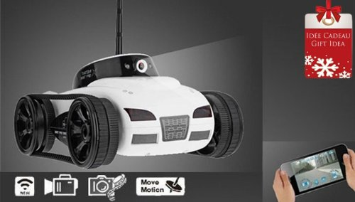 Spy Cam Tank Car