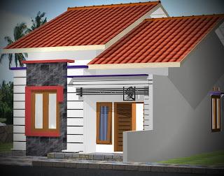 Model Desain Gambar Denah Rumah Sangat Sederhana Minimalis